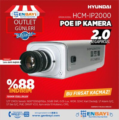Hyundai - HCM-IP2000