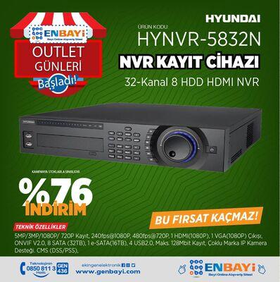 Hyundai - HYNVR-5832N